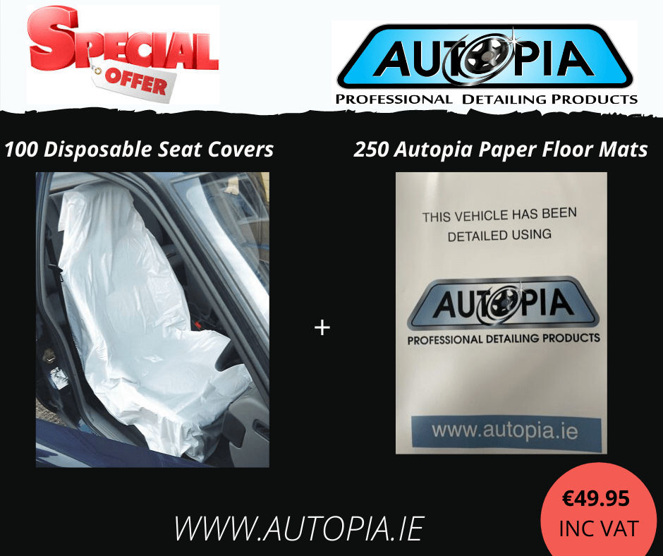 100 Disposable Seat Covers