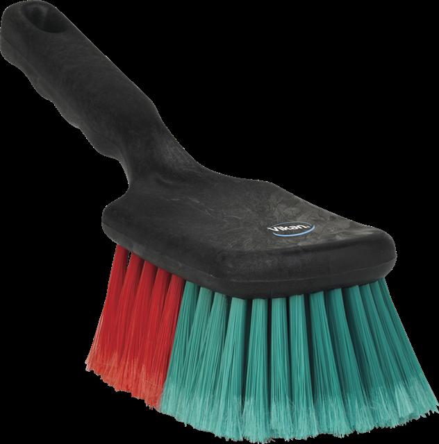 vehicle brush with short handle