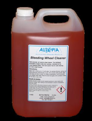 bleeding wheel alloy wheel cleaner