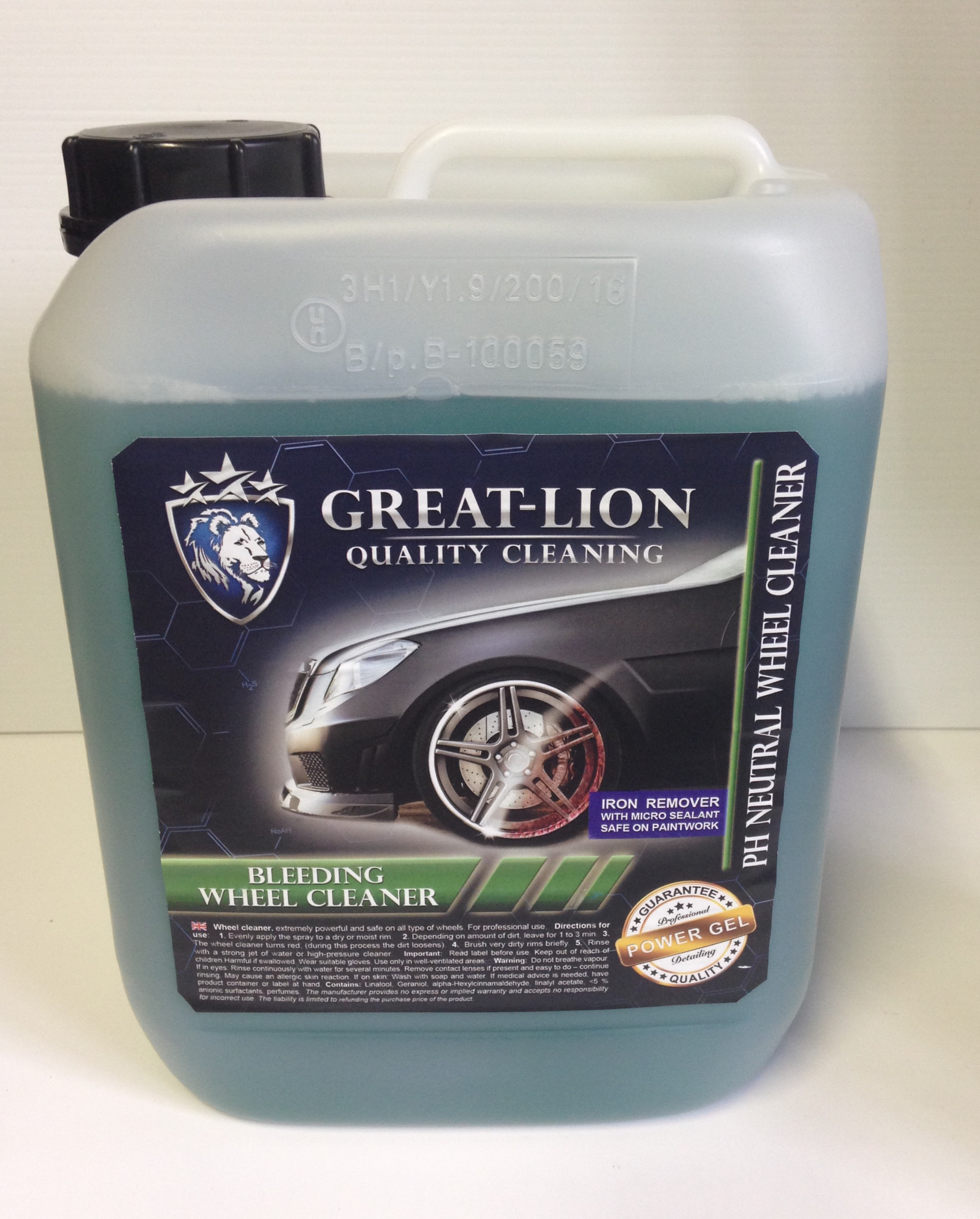Great Lion Bleeding Wheel Cleaner