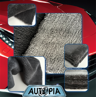 premium seamless microfibre cloth