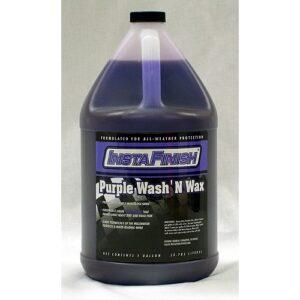 wash and wax purple