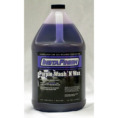 wash and wax purple
