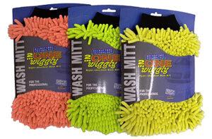 Microfibre wiggles wash mitt