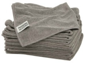 Grey Pinpoint Trade Microfibre Cloth 10pk