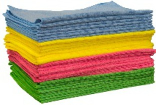 Professional Grade Bulk Microfibre Cloth 10pk
