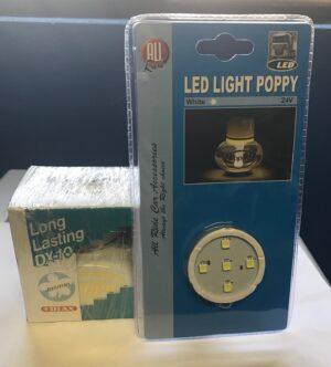 poppy air freshener and led light
