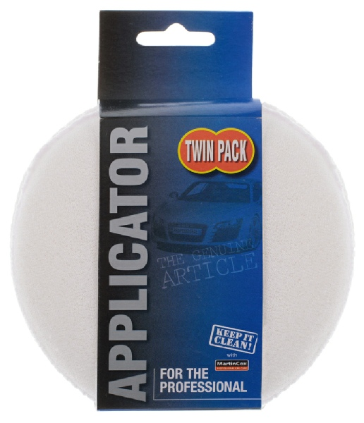 Terry cloth applicator pads