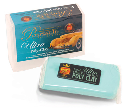 pinnacle poly ultra clay bar