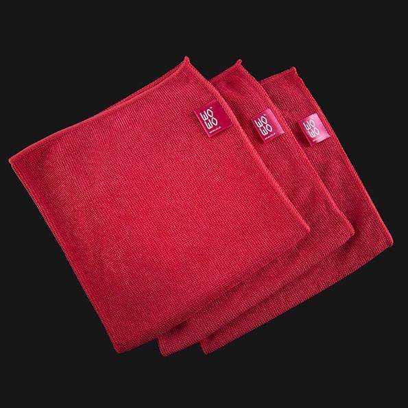 3pc Microfibre Cloth Set