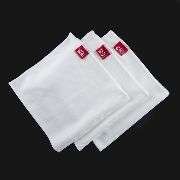 3pc Microfibre Glass Cloth Set