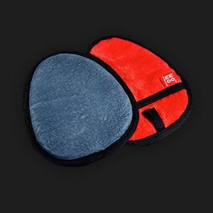 Clay Mitt with Microfibre back