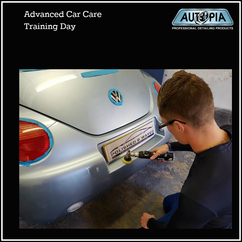advanced car care training day