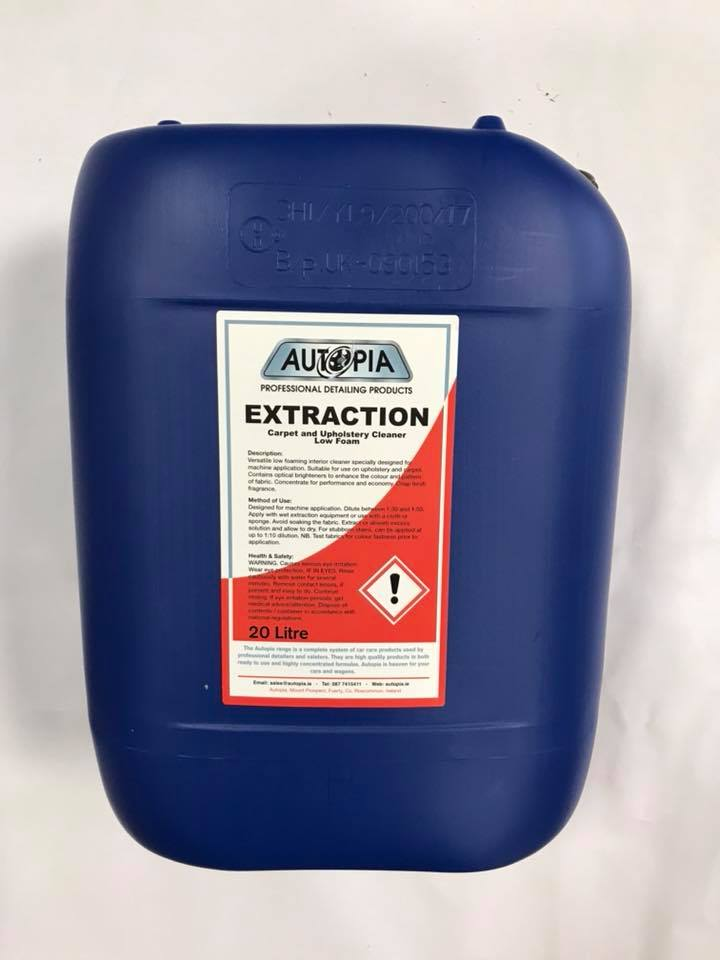 extraction carpet and upholstery cleaner