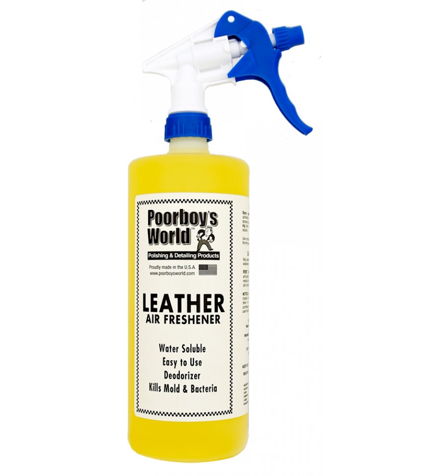 poorboys leather air freshener