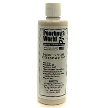 poorboys polish with carnauba wax