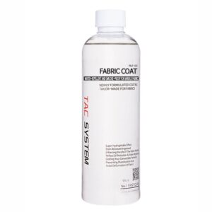 Tac System Fabric Coat for Cloth and Leather
